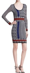 Tracy Reese short dress Black multi on Tradesy