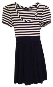 Forever 21 short dress Navy & White on Tradesy