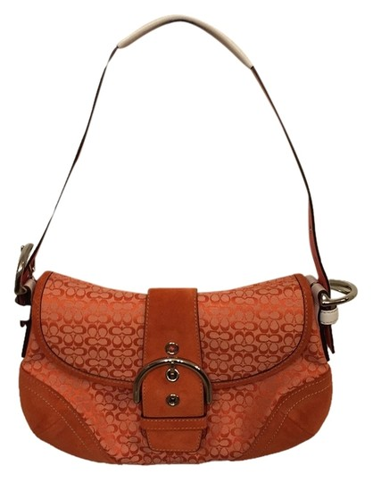 Preload https://item3.tradesy.com/images/coach-purse-orange-and-white-hobo-bag-10599337-0-1.jpg?width=440&height=440