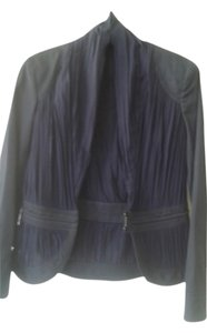 Zac Posen very dark blue with black Jacket