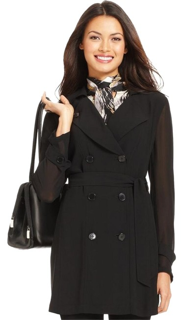 Preload https://item1.tradesy.com/images/nine-west-black-chiffon-sleeves-double-breasted-trench-coat-short-cocktail-dress-size-2-xs-10600135-0-2.jpg?width=400&height=650