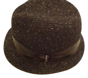 Borsalino Borsalino Tweed Hat with Leather band