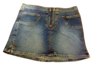 Guess Mini Micro Mini Skirt Denim
