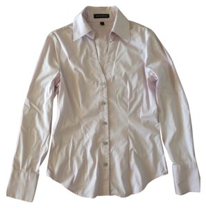 Express Button-up Fitted Button Down Shirt Lilac, lavender