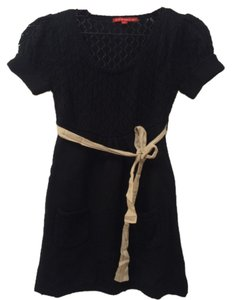 JJ Basics short dress Black on Tradesy