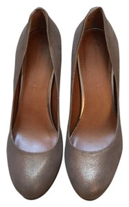Banana Republic Bronze Platforms