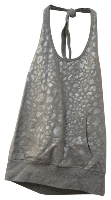 Preload https://item1.tradesy.com/images/express-gray-with-adjustable-neck-tie-halter-top-size-8-m-10600945-0-1.jpg?width=400&height=650