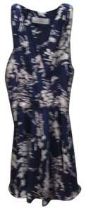 Amanda Uprichard short dress Navy on Tradesy