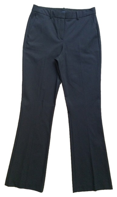Theory Tailored Modern Flare Pants BLACK