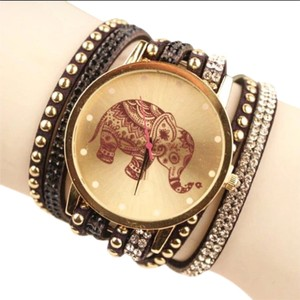 Fashion Jewelry For Everyone Elephant Lovers Watch