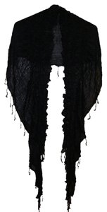 Other Scarf with ruffles and tassles