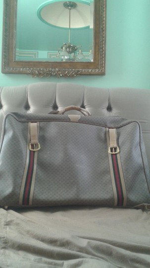 Gucci vintage beige with G logos Travel Bag