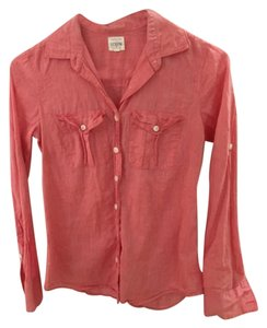 J.Crew Button Down Shirt Salmon