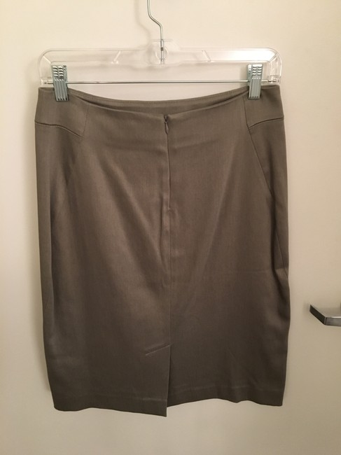 Theory Wear To Work Pencil Skirt Beige