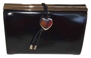 Moschino Black Clutch