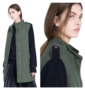 Zara coat Military Jacket