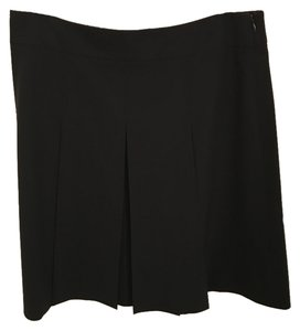 Theory Pleated Wear To Work Skirt Black