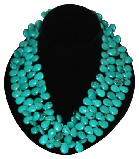 Preload https://img-static.tradesy.com/item/1060246/turquoise-double-strand-necklace-0-0-540-540.jpg