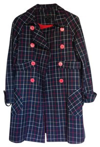 Marc Jacobs Wool Designer Trench Coat