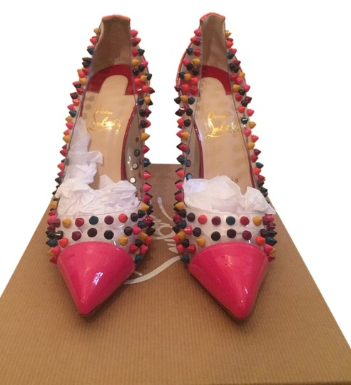 Preload https://item3.tradesy.com/images/christian-louboutin-multicolor-pumps-size-us-9-regular-m-b-10602937-0-1.jpg?width=440&height=440