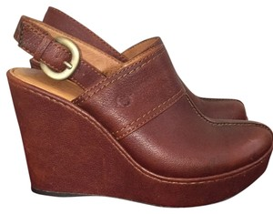 Brn Brown Mules