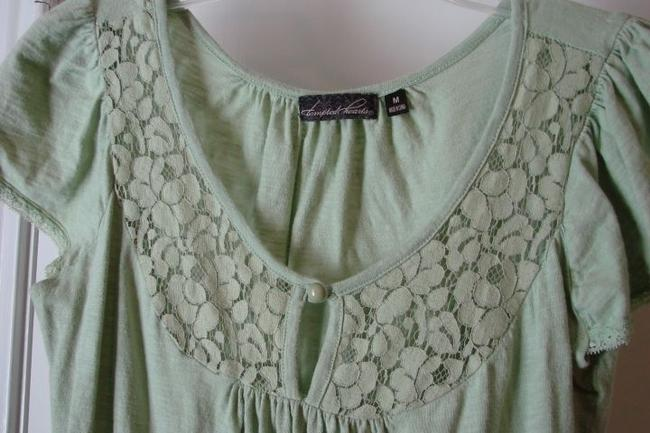Tempted Hearts Top Green
