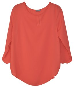 Abbeline Top Coral