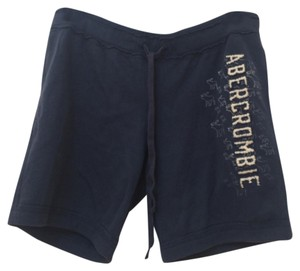 Abercrombie & Fitch Navy blue Shorts