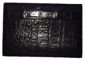 Coach Coach Aligator Card Case