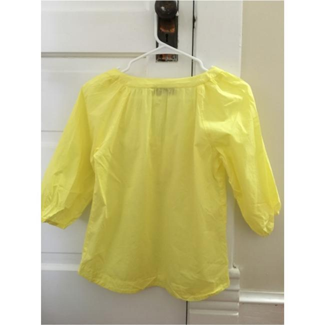 Ann Taylor LOFT Top Yellow