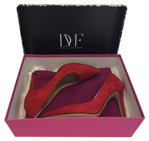 Diane von Furstenberg Red Pumps