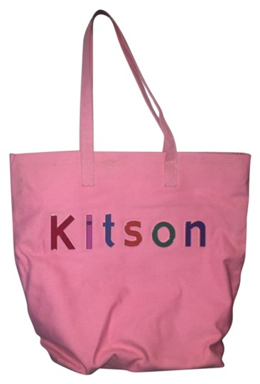 Preload https://item2.tradesy.com/images/kitson-pink-cotton-tote-10603531-0-1.jpg?width=440&height=440