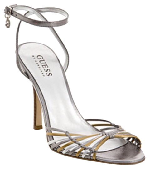 Preload https://item2.tradesy.com/images/guess-by-marciano-silver-gold-formal-shoes-size-us-8-regular-m-b-10603561-0-1.jpg?width=440&height=440