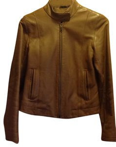 The Leather Company New York Light brown Leather Jacket