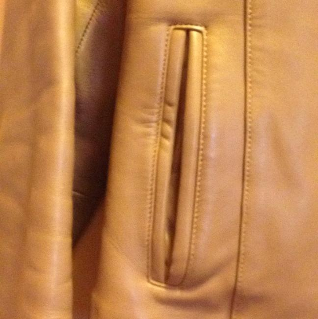 The Leather Company New York Light brown Leather Jacket Image 1