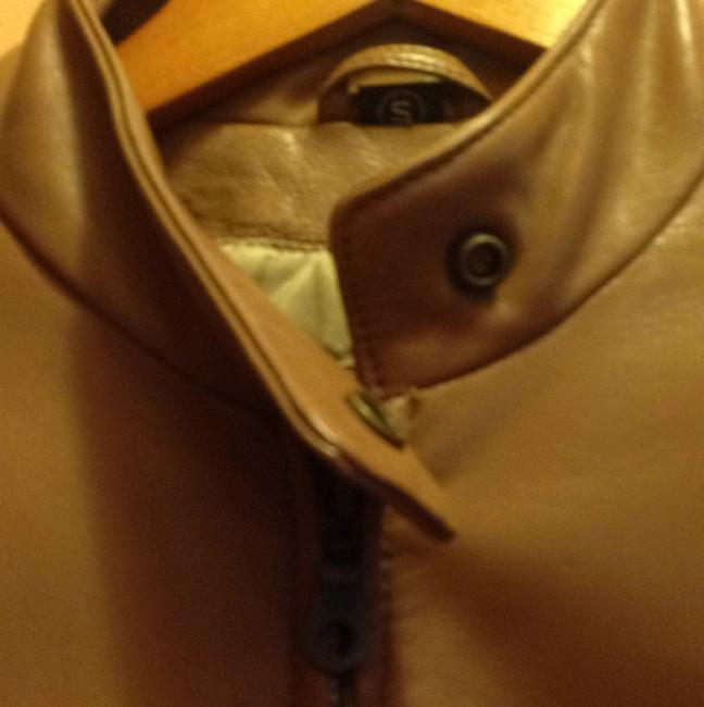 The Leather Company New York Light brown Leather Jacket Image 2