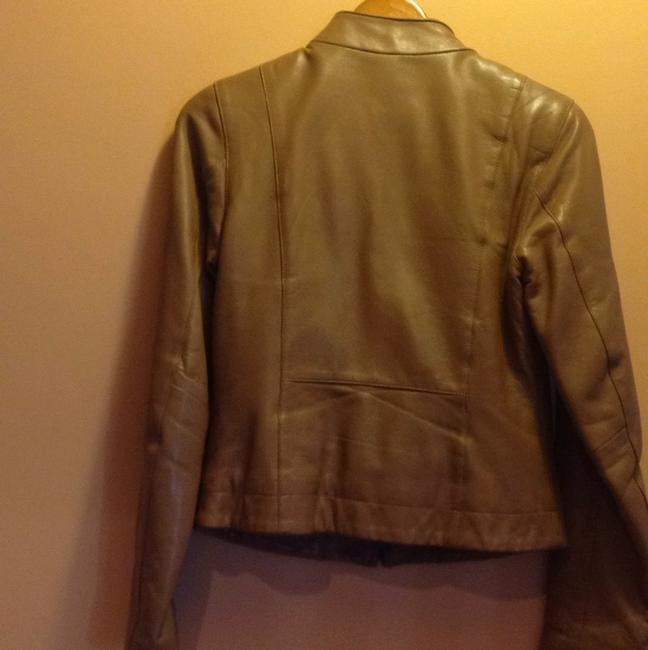 The Leather Company New York Light brown Leather Jacket Image 3