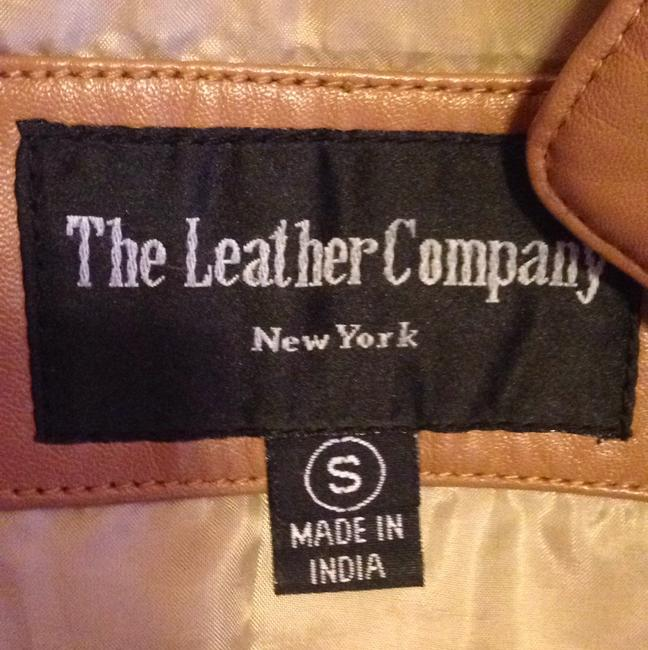 The Leather Company New York Light brown Leather Jacket Image 4