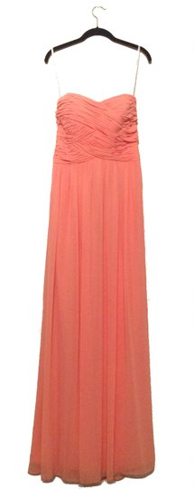 Preload https://item4.tradesy.com/images/donna-morgan-peach-fuzz-polyester-chiffon-audrey-formal-bridesmaidmob-dress-size-6-s-10603888-0-0.jpg?width=440&height=440