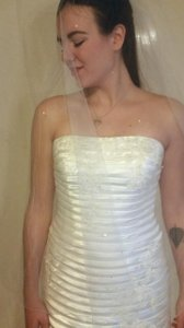 Oleg Cassini Cv259 Wedding Dress