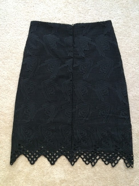 Little White Lies Lace Modern Romantic Feminine Skirt BLACK
