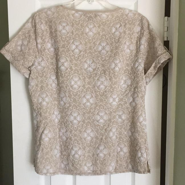 Vineyard Vines Top Tan/White