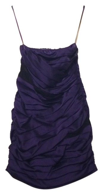 Preload https://item2.tradesy.com/images/express-purple-black-strapless-satin-lace-above-knee-night-out-dress-size-8-m-10604671-0-1.jpg?width=400&height=650