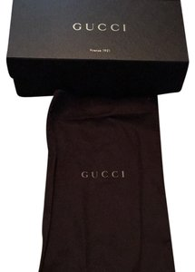 Gucci Gucci Shoe Box and Dust Bag