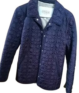 Coach Puffer Quilted Coat