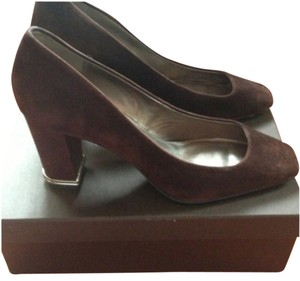 Elie Tahari Brown Pumps