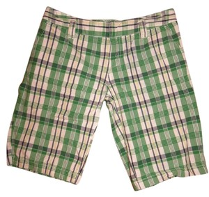 Roxy Bermuda Bermuda Short Bermuda Shorts Green Blue and White