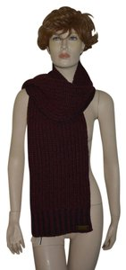 Burberry NWT BURBERRY $350 TWEED MERINO WOOL KNITTED SCARF WRAP
