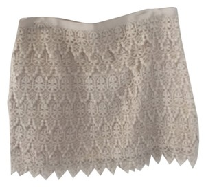 BB Dakota Mini Skirt Off White