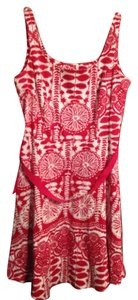 Breakin' Loose short dress Red and White on Tradesy